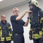 Gemeinsame Ausbildung mit der Freiwilligen Feuerwehr