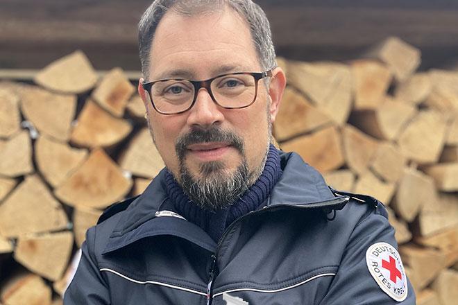 Neuer Rotkreuzbeauftragter des DRK Darmstadt