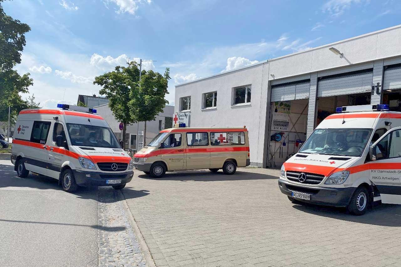 Read more about the article DRK Arheilgen im Katastropheneinsatz